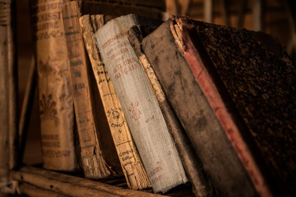 Books via jarmoluk CC0 via Pixabay