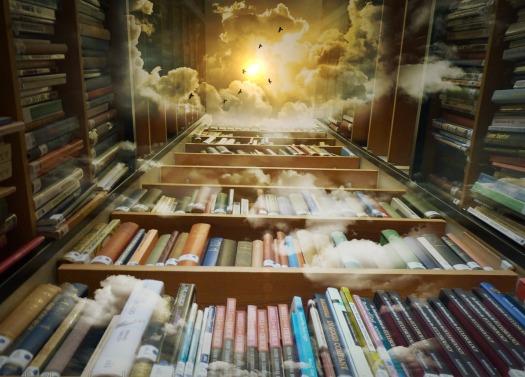 library by Bonnybbx, CC0 via Pixabay