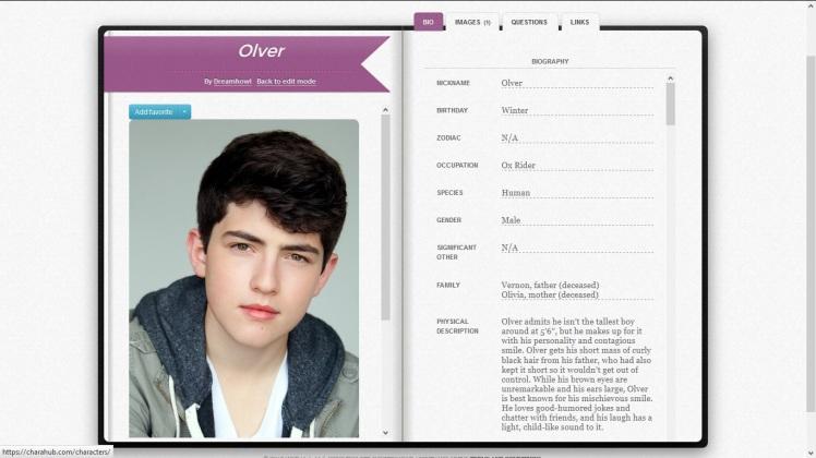 Olver Profile